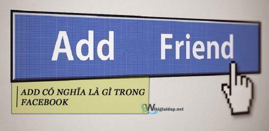 Add có nghĩa là gì trong facebook. Ảnh đại diện