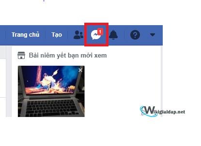 Cách sử dụng inbox trên facebook. Ảnh 1