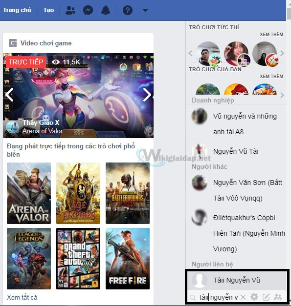 Cách sử dụng inbox trên facebook. Ảnh 4