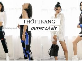 outfit là gì. Ảnh bìa