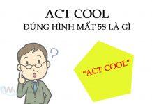 act cool đứng hình mất 5 giây. Ảnh bìa