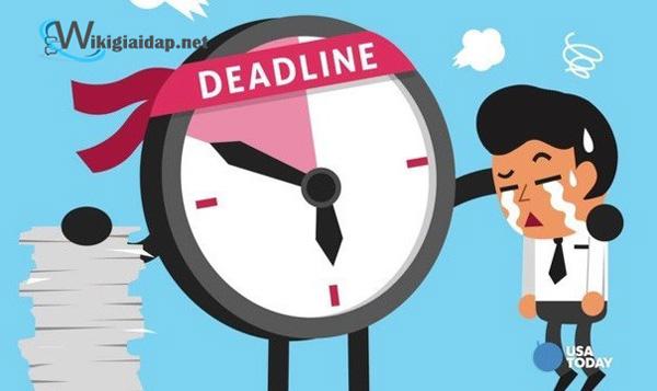 Deadline nghĩa là gì. Ảnh 2