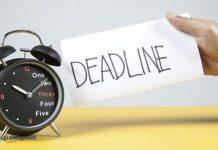 Deadline nghĩa là gì. Ảnh bìa