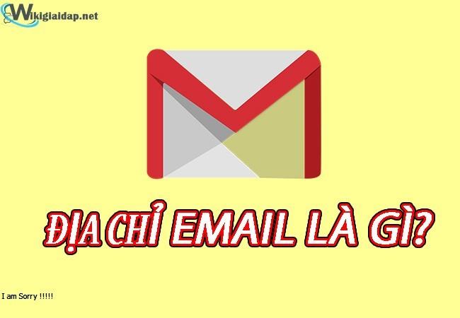 Địa chỉ email là gì. Ảnh bìa