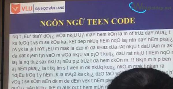 Teencode là gì. Ảnh 2