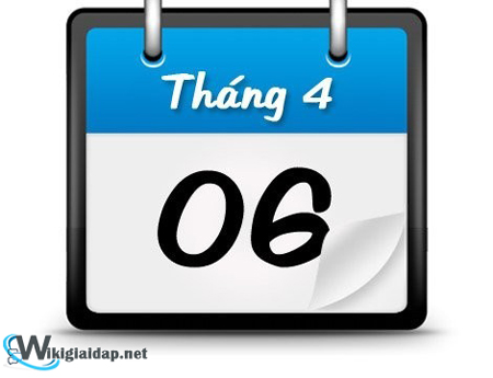 Ngày 6 tháng 4 là ngày gì. Ảnh 1