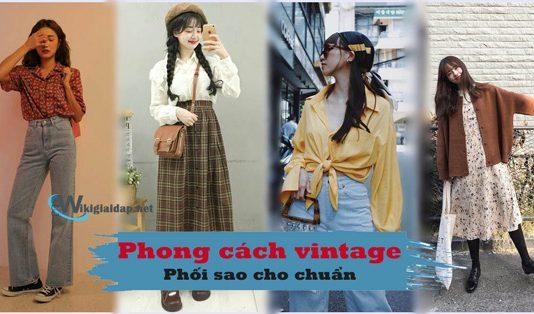 Phong cách vintage là gì. Ảnh bìa