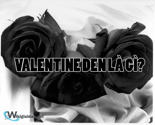 Valentine đen là gì. Ảnh bìa